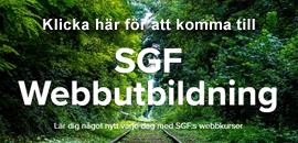 SGF webbutbildning